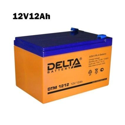 Аккумулятор 12V 12AH DELTA DTM